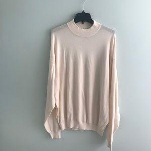 NWOT Pronto- Uomo silk/ cotton sweater